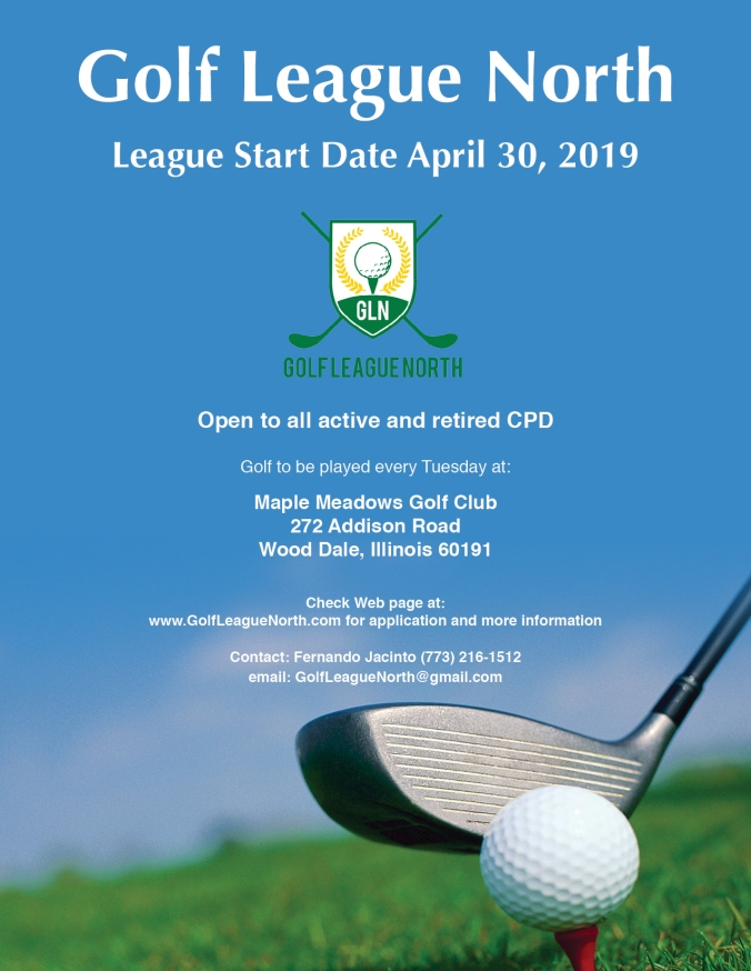 2019 golf league north flyer